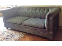 Genuine Liberty Chesterfield sofabed
