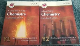 A-Level Chemistry for OCR A: Year 1 & 2 complete course
