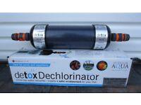 Koi pond equipment - purifiers / dechlorinators, air blower, UV bulbs, net, blanketweed treatment