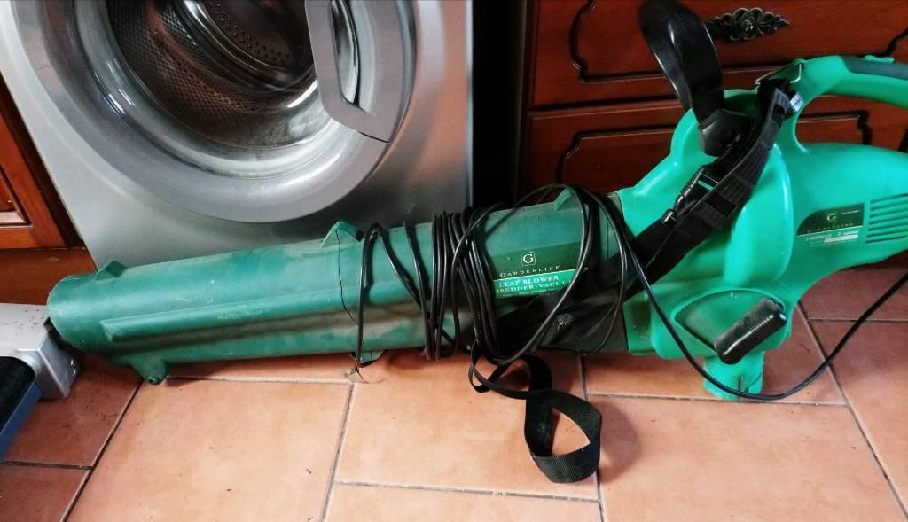 Gardenline leaf blower-shredder-vacuum