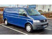 2009/59 Reg VW Transporter T5 2.5 130 PS Panel Van With Tailgate, Ideal Camper Van