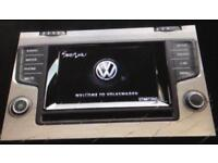 Volkswagen Golf sat nav system (genuine vw)