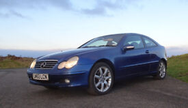 Mercedes C230 C class Coupe 2003 Automatic with 12 Months MOT