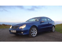 Mercedes C230K Coupe 2003 Automatic with 12 Months MOT