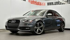 2016 Audi S4 3.0T Progressiv plus - NAV-PUSH START-DYNAMIC SUSP