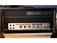 Sound City 50 plus mark iv Valve guitar amplifier