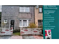 2 BED TERRACED IN SHEDDOCKSLEY UNFURNISHED LONG TERM AVAILABLE