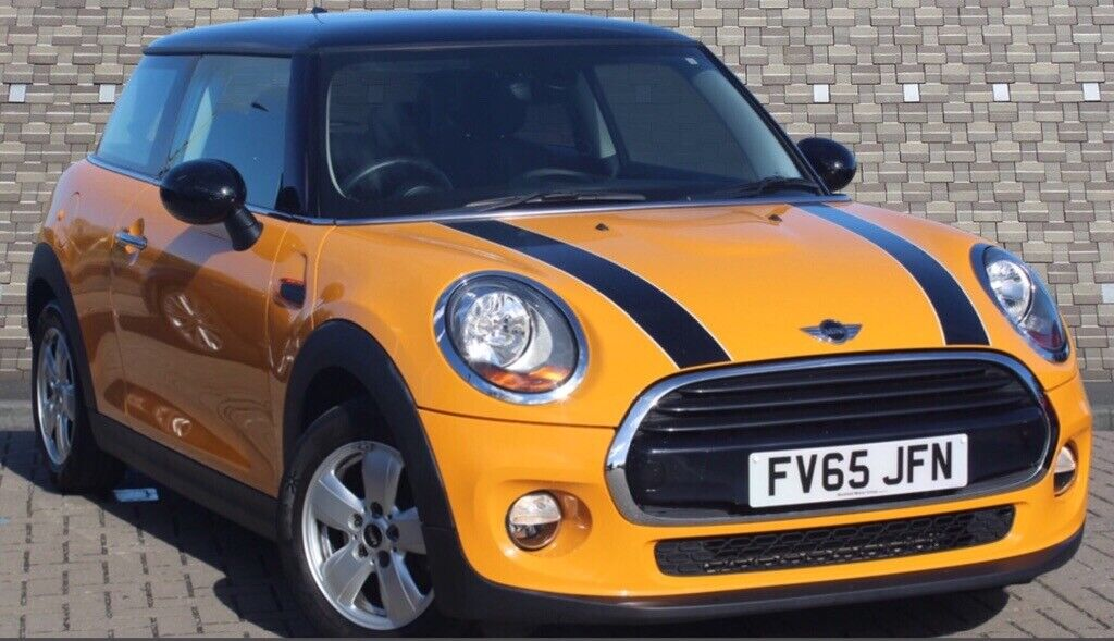 Mini Cooper 65 With Ss Pepper Pack In Volcanic Orange In