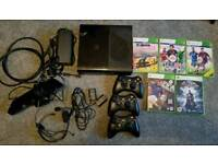 Xbox 369 with wireless controllers , Kinect & more