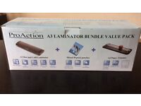 Laminator and paper trimmer for sale