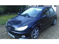 Peugeot 206 1.9 HDI Sport Black Low mileage