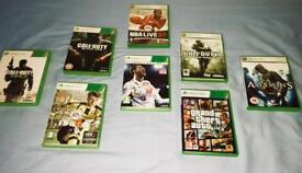 URGENT! 8 Xbox 360 games