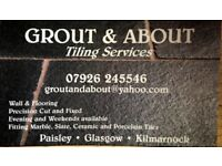 Grout and About Tiling Services. Competitive rates, high quality finish