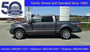2014 Ford F-150 Platinum 4X4 | Finance from 1.9%! | One Owner