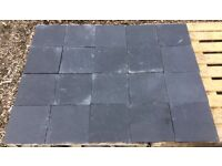 20x Heavy Duty Slate Tiles Slabs 295mm x 295mm x 18mm Thick Collect nr Brighton