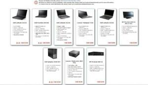 Off-lease Business Computer Laptop/Desktop (Grade A conditions) - $169 or UP (HP, Lenovo, Dell) *Last updated 2018-10-17