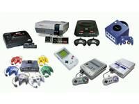 Retro consoles & games wanted. N64 snes gamecube sega megadrive etc
