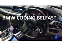 BMW, Mini F, G, I & Rolls-Royce Coding in Belfast