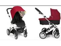 New Mamas and papas pushchair and carrycot