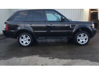 4x 19 inch wheels and tyres Range rover sport hse 2009