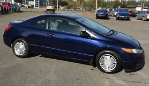 2007 Honda Civic Coupe DX-G***51 938 KM***