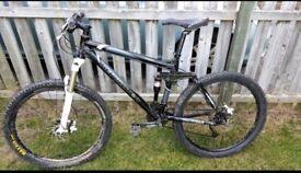 Revolution triad downhill bike/ cross country