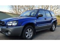 2003 SUBARU FORESTER X All Weather 4WD Petrol 5 door MOT FEB 2018 Service History