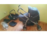 Silver Cross 3D pram and pushchair travel system
