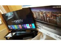 40in Samsung 4k UHD SMART TV -1000hz- wifi - Freeview HD