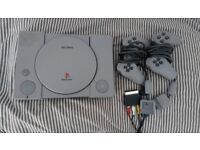 PlayStation 1 & controllers for sale. (Good condition)