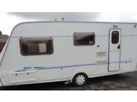 Fleetwood JAVA 4 berth caravan 35 year anniversary edition