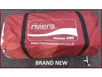 Caravan Awning Riviera Horizon 260 Porch Awning BRAND NEW.