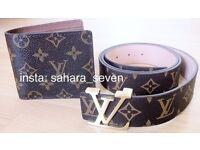 Good Quality Louis Vuitton Belt Lv Wallet Purse £25