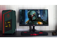 AMD Ryzen 5 Quad Core Overclocked 3.9 GHz ASUS RX 560 Strix Gaming PC Desktop 8GB DDR4 Win10 Home