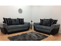 VERMONT3 + 2 SEATER SOFA SET FAST NATIONWIDE 7 DAY DELIVERY