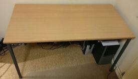 Office Canteen Table Desk (122cm x 61.5cm x 70cm)