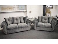 Royal Velvet 2+3 sofa set Royal Velvet 2+3 sofa set Made to order in the UK!