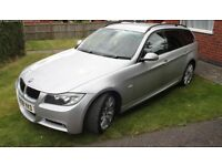 BMW 3 SERIES 3.0 325d M Sport Touring 5dr, leather, full service history, excellent condition