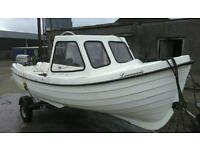 Boat for sale 16.5/17ft Orkney style