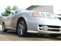 VERY LOW MILAGE HYUNDAI COUPE 2.7 MANUAL 6GEARS