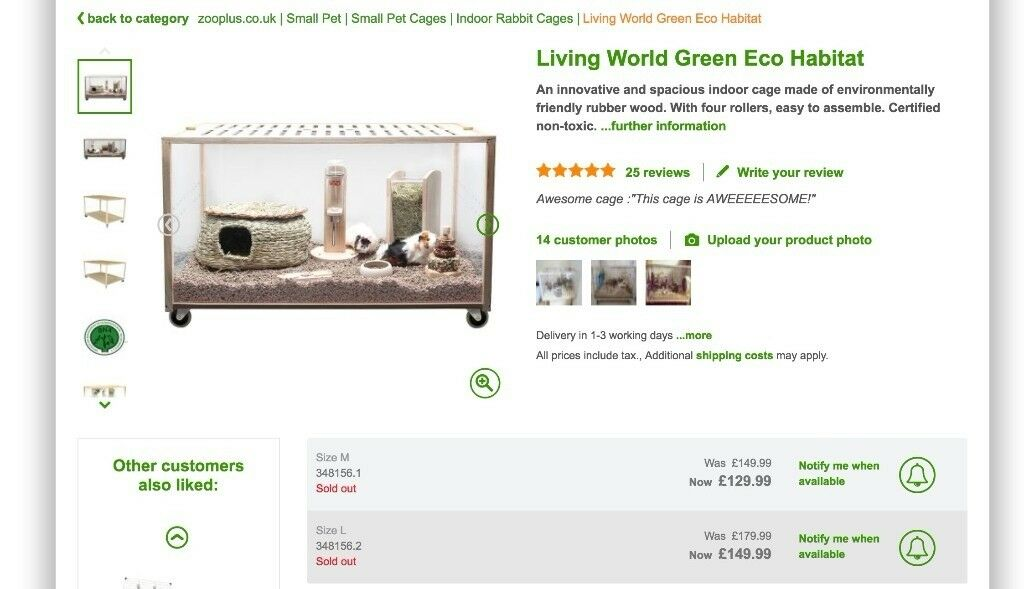 Living World Green Eco Habitat In Luton Bedfordshire Gumtree
