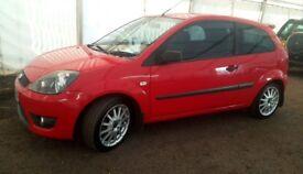 Ford Fiesta Zetec S Tdci 56 plate