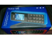 Nokia 105 New in Blue