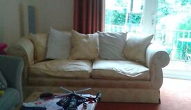 Good Condition 3 Seater Comfy Sofa