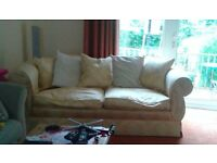 Good Condition 3 Seater Comfy Sofa