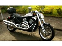 Harley Davidson VRSCR Street Rod Milage 3,340 MOT 23/05/2019 excellent condition looks as new