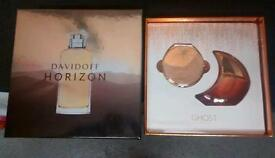 Aftershave and perfume set
