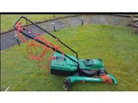 Lawnmower and strimmer mint condition