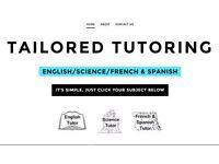 GCSE English Language and A level English Literature Tutoring