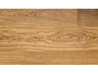 Engineered Oak Wood Flooring, 18mm width & 16/4mm depth - £29psm reduced from £45psm